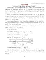 phân tích sai lầm khi giải toán