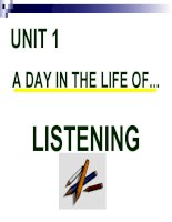 Unit 1-English 10-Listening