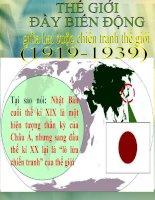 bài giảng lịch sử 11 bài 14 nhật bản giữa hai cuộc chiến tranh thế giới (1918 - 1939)