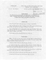 Nghị định 40/2001/NĐ-CP _xử lí vi phạm hành chính trong giáo dục