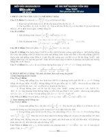 Đề thi thử ĐH số 001 năm 2012 của BoxMath