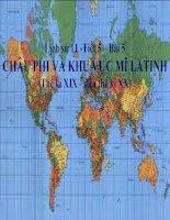 bài giảng lịch sử 11 bài 5 châu phi và khu vực mỹ latinh (thế kỷ xix - đầu thế kỷ xx)