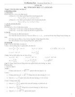 Tổng hợp kiến thức và các chuyên đề toán 12