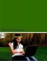 Android tutorial English Tut