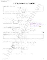 48 hệ phương trình của boxmath