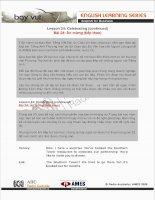26 Bài học tiếng Anh thương mại