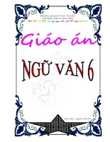 Bìa-Giáo án Ngữ Văn 6 (Mới)