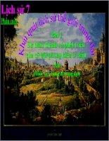 bài giảng lịch sử 7 bài 1 sự hình thành và phát triển của xã hội phong kiến ở châu âu