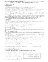 Bài tập trắc nghiệm sinh học 12 : phần ADN-ARN-Phiên mã - Dịch mã