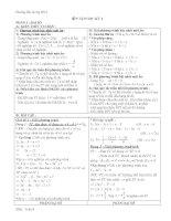 Tài liệu ôn tập toán 8-HKII (2008-2009)