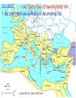 bài giảng lịch sử 6 bài 5 các quốc gia cổ đại phương tây