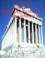 bài giảng lịch sử 10 bài 4 các quốc gia cổ đại phương tây - hi lạp và rô ma