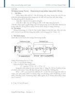 Sử dụng mạng Noron – Hamming trong nhận dạng chữ viết tay