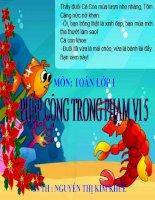 TOÁN- LỚP 1- PHÉP CỘNG TRONG PHẠM VI 5