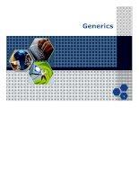 Bài giảng nhập môn lập trình   generic