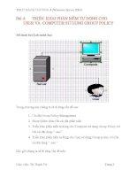 vào dạy học (windows server 2003) bài 4 triển khai phần mềm tự động cho user và computer sử dụng group policy