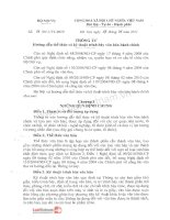 Thong tu 01TT-BNV-Huong dan the thuc và ky thuat trinh bay van ban hanh chinh
