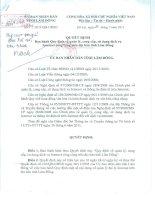 Quyết định ban hành Quy định về quản lí, cung cấp, sử dụng dịch vụ Internet trên địa bàn tỉnh Lâm Đồng