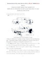 nghiên cứu thiết kế chế tạo mô hình cắt bổ động cơ 4 thì, hộp số và hệ thống phanh ô tô