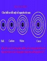 Hóa 8 - Tiết 6: Nguyên tố hóa học