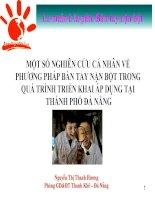 Báo cáo pp Bàn Tay nặn bột - Hue 2011