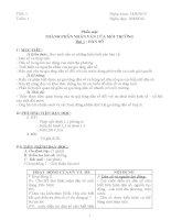Giáo án Địa 7 (chuẩn KTKN)