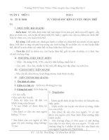 GIÁO ÁN GDCD 6 CẢ NĂM THEO CHUẨN KTKN MỚI