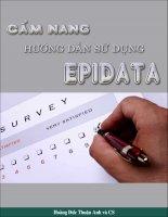 Cẩm nang hướng dẫn sử dụng epidata