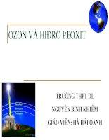 Ô Zon và Hidro peoxit