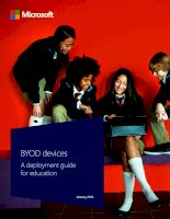 a deployment guide for education