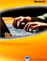 Giáo trình Word 2010-Microsoft Việt Nam