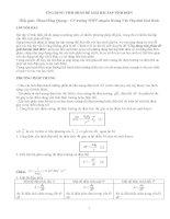 SKKN Ứng dụng tích phân để giải bài tập tĩnh điện