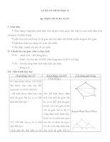 giáo án hình học 8 chương 2 bài 6 diện tích đa giác