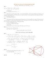 Tổng hợp đề thi toán vào cấp 3 (1988 2013)