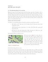 Giáo trình cơ sở dữ liệu và hệ thống thông tin địa lý gis chương 2 mô hình hóa trái đất