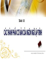 Bai 2 - Tin 11
