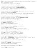 Tổng hợp các dạng bài thi thi và các đề thi Tiếng Anh trình độ B