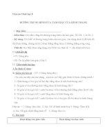 giáo án hình học 8 chương 1 bài 4 đường trung bình của tam giác, của hình thang