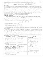 tự chọn vật lý 10 cơ bản