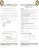 Bài tập tự luận và trắc nghiệm vật lý 12 chương I