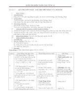 giáo án giải tích 12 chương 1 bài 3 giá trị lớn nhất giá trị nhỏ nhất của hàm số