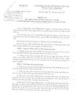 Thông tư 09/2011/BNV về việc quy định thời hạn bảo quản hồ sơ, tài liệu