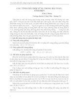 Báo cáo các tính chất đối xứng trong bài toán