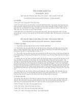 TIÊU CHUẨN QUỐC GIA TCVN 5574 : 2012 KẾT CẤU BÊ TÔNG VÀ BÊ TÔNG CỐT THÉP - TIÊU CHUẨN THIẾT KẾ