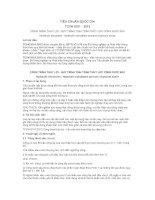 TIÊU CHUẨN QUỐC GIA TCVN 9151 : 2012 CÔNG TRÌNH THỦY LỢI - QUY TRÌNH TÍNH TOÁN THỦY LỰC CỐNG DƯỚI SÂU