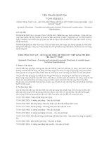 TIÊU CHUẨN QUỐC GIA TCVN 9139:2012 CÔNG TRÌNH THỦY LỢI – KẾT CẤU BÊ TÔNG, BÊ TÔNG CỐT THÉP VÙNG VEN BIỂN - YÊU CẦU KỸ THUẬT