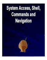 bài giảng tổng quan về linux chương 2 system access, shell, commands and navigation