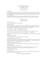 TIÊU CHUẨN QUỐC GIA TCVN 9202 : 2012 XI MĂNG XÂY TRÁT