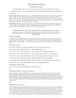 TIÊU CHUẨN QUỐC GIA TCVN 9160 : 2012 CÔNG TRÌNH THỦY LỢI - YÊU CẦU THIẾT KẾ - DẪN DÒNG TRONG XÂY DỰNG
