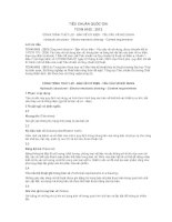 TIÊU CHUẨN QUỐC GIA TCVN 9163 : 2012 CÔNG TRÌNH THỦY LỢI - BẢN VẼ CƠ ĐIỆN - YÊU CÂU VỀ NỘI DUNG